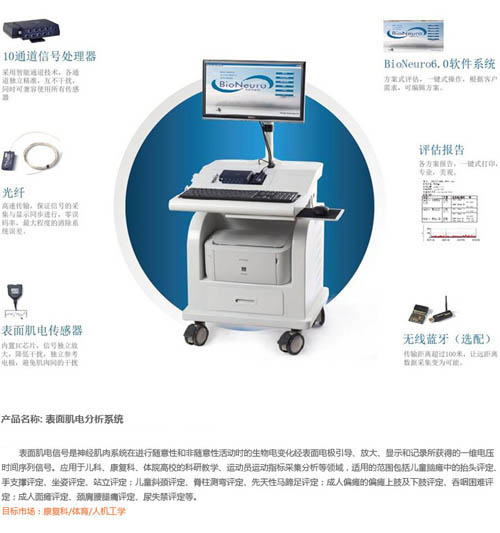 表面肌电分析系统